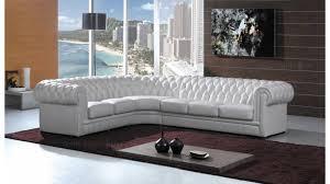 canapé chesterfield cuir blanc chesterfield canapé d angle design tout en cuir pour faire