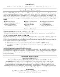 Engineer Resume Objective Engineering Objectives Software