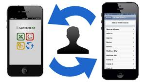 How to TRANSFER CONTACTS between iPhone iPod iPad without a