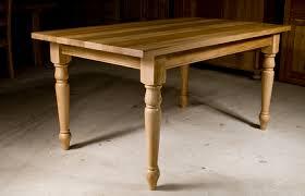 Handmade Oak Kitchen Table The Oak & Pine Barn Hampshire