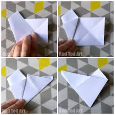 Easy 3D Paper Stars