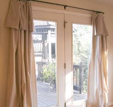 French Door Treatments Ideas by Decorating French Door Panels Curtains Window Treatments French