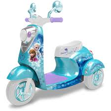 Disney Frozen 3 Wheel Scooter 6 Volt Battery Powered Ride On