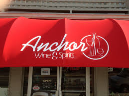 Anchor Wine & Spirits Awning - Coastal Sign & Design, LLC Signs Banners Awnings Truck Lettering Serving Bergen And Wall Signs Awnings Burchette Sign Ultimate Portfolio Categories Solutions Prting Signs And Awnings Ltd Youtube Channel Letters Gate City Graphics Portable Transportation Seattlegov Whosale Artworks Neon Led Letters Bogota Nj Epic Illuminated Tupp Ancient Mariner Architectural Signage