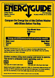 EnergyGuide Labels Are A Helpful Tool For Consumers To Compare Energy Efficiency Ratings And Cost Savings When Buying New Appliances