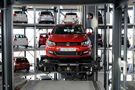 Volkswagen s 800 Vehicle Car Towers in Germany  TwistedSifter