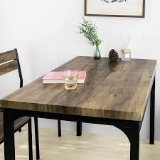 sobuy ogt28 n fst72 nx4 5 teilig essgruppe esstisch mit 4 stühlen sitzgruppe küche küchentisch