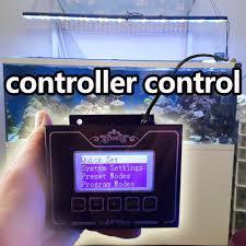 led aquarium light controller programmable aquarium l for 2ft 24 60cm coral reef marine