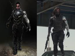 Concept Art Vs Reality Winter Soldier