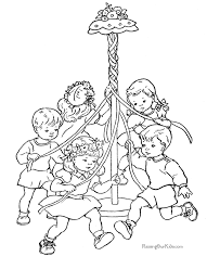 Fun Spring Coloring Pages