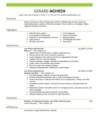 Best Office Administrator Resume Example