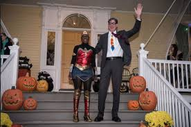 Park Slope Halloween Parade 2015 Photos by De Blasio Mccray Are Superheroes For Annual Halloween Party At