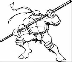 Incredible Teenage Mutant Ninja Turtles Coloring Pages With Page And Free