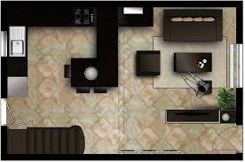decoration salon cuisine ouverte salon avec cuisine ouverte mh deco le