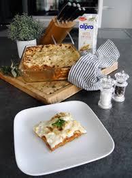chignon blumenkohl lasagne mit dem haferdrink alpro ohne zucker