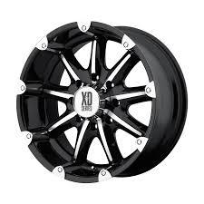 100 Discount Truck Wheels XD Series XD 779 Badlands MultiSpoke Machined