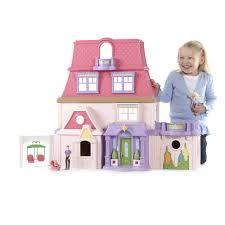 Princess Kitchen Play Set Walmart by Kidkraft Annabelle Dollhouse With 17 Accessories Walmart Com