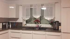 scheibengardinen set gardinen küchengardinen modern grau