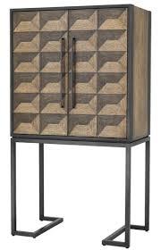 casa padrino luxus weinschrank mit 2 türen braun dunkelbraun schwarz 95 x 58 x h 168 5 cm barmöbel luxus qualität