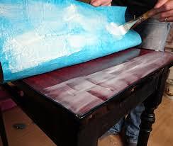bureau customisé customisation d un petit bureau en formica atelier déco des tilleuls