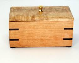 Small CHERRY WOOD BOX