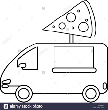 Pizza Delivery Truck Fast Food Outline Stock Vector Art ... Fire Truck Outline 0 And Coloring Pages Clipart Line Drawing Pencil And In Color Truck Semi Rear View Drawing Peterbilt Coloring Page Icon Vector Isolated Delivery Stock Royalty Trailer Pages At 10 Mapleton Nurseries Template On White Free Printable Of Cars Trucks With Pickup Encode To Base64 Simple Icons Download Art Clipart Black Awesome At