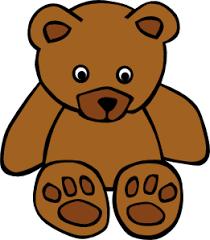 261x298 Simple Teddy Bear Clip Art