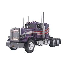 Revell Peterbilt 359 Contentional Tractor Plastic Model Kit, 1:25 ...