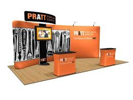 Our Custom Trade Show Display Stand Are Lightweight Durable Portable Stands Complete With 1 TV Unit
