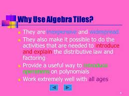algebra tiles factoring algebra tiles ppt