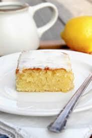blondies au chocolat blanc et au citron recette illustrée