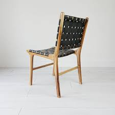 Natural Teak And Leather Dining Chair By Souk Collective ... 17 Stories Belmiro Modern Genuine Leather Upholstered Ding Chair Industrial Real Black Hayden Range Lea009 Siena Natural James Lane Fniture Shop Tstitch Chocolate Brown Bonded Set Of 6 Amazoncom We Faux Chairs 2 Marianna Cream With Solid Oak Legs White Leather Ding Chairs Dataskerco Monti Danetti Contemporary Chair Upholstered Sled Base Easy Genuine Leather Ding Chairs X 4 Available Wooden You Know It Healey Pu Rubberwood