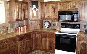 Rustic Style Kitchen Cabinets Designs