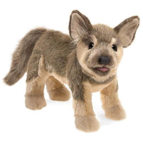 German Shepherd Puppy Puppet by Folkmanis 3116