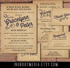 8 Impressive Rustic Wedding Invitation Wording