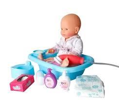 Mon Premier Baby Bath Raspberry Baby Doll From Corolle Dolls