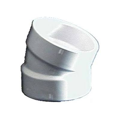 "Genova Products PVC Elbows - 4"", 22.5 Degrees"