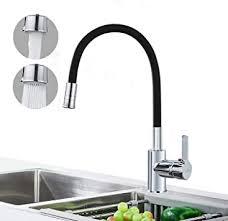 auralum schwarz küchenarmatur mit 2 strahlarten wasserhahn
