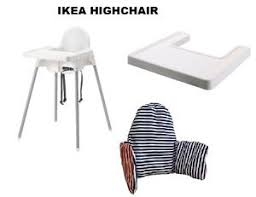 Ikea Antilop High Chair Tray by Ikea Antilop Babyhighchair With Safety Belt Matching Tray