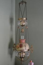 Hanging Oil Lamps Ebay by All Original Antique Miller Hanging Oil Lamp Oil Lamps Lamps