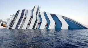 costa concordia cruise ship runs aground off coast of italy