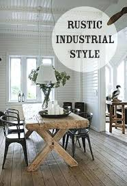 Industrial Style Kitchen Chair Rustic Ideas For Your Home Table And