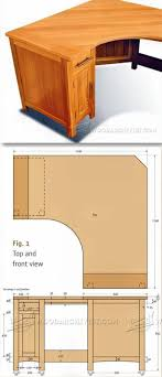 Unusual Computer Desk Plans Picture Inspirations Home Design Table Simple Woodworking Ideas Free