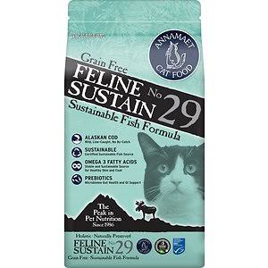 Annamaet Grain-Free Feline Sustain No. 29 Fish Formula Dry Cat Food, 4-lb Bag