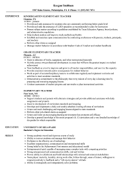 Elementary Teacher Resume Samples | Velvet Jobs 14 Teacher Resume Examples Template Skills Tips Sample Education For A Teaching Internship Elementary Example New Substitute And Guide 2019 Resume Bilingual Samples Lead Preschool Physical Tipss Und Vorlagen School Cover Letter 12 Imageresume For In Valid Early Childhood Math Tutor