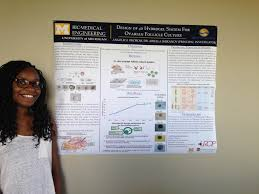 Summer UROP Students Angelica Okorom And Malika Malik Present At The 2013 Symposium With Their Research Projects Titled Design Optimization