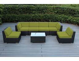 Outdoor Deep Seating Sectional Sofa by Ohana Patio Outdoor Wicker Furniture Sectional 7 Pc Additional