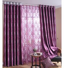 purple curtains in living room designs carameloffers