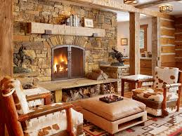 Rustic Living Room Impressive With Picture Of Design New At