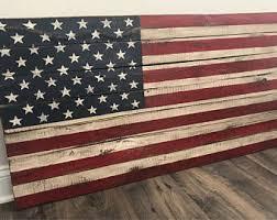 LARGE Pallet American Flag